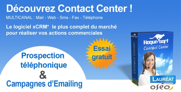 Contact center prospection