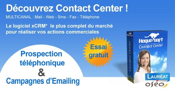Contact center prospection
