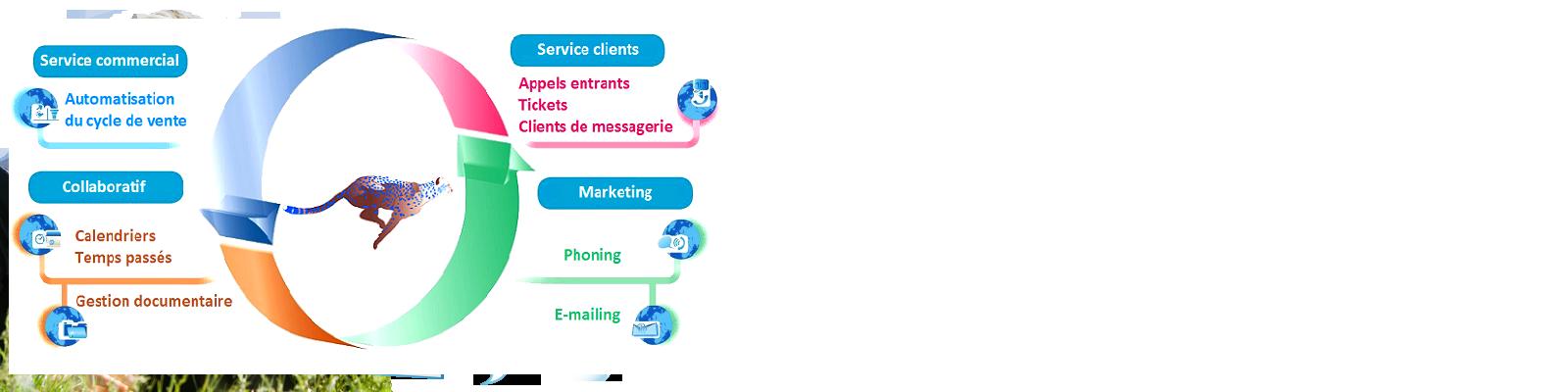 Le logiciel de gestion de contacts le plus complet du marché